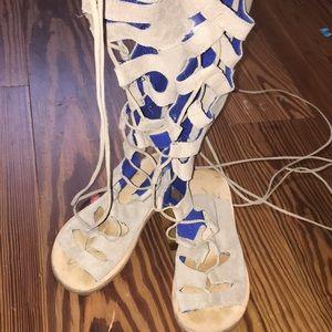 Jeffery Campbell gladiator sandals